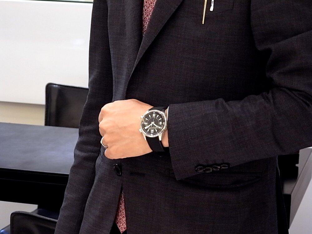 【ジャガー・ルクルト】のポラリス デイト、アクティブな男性におすすめな時計です!-Jaeger-LeCoultre -R1171816