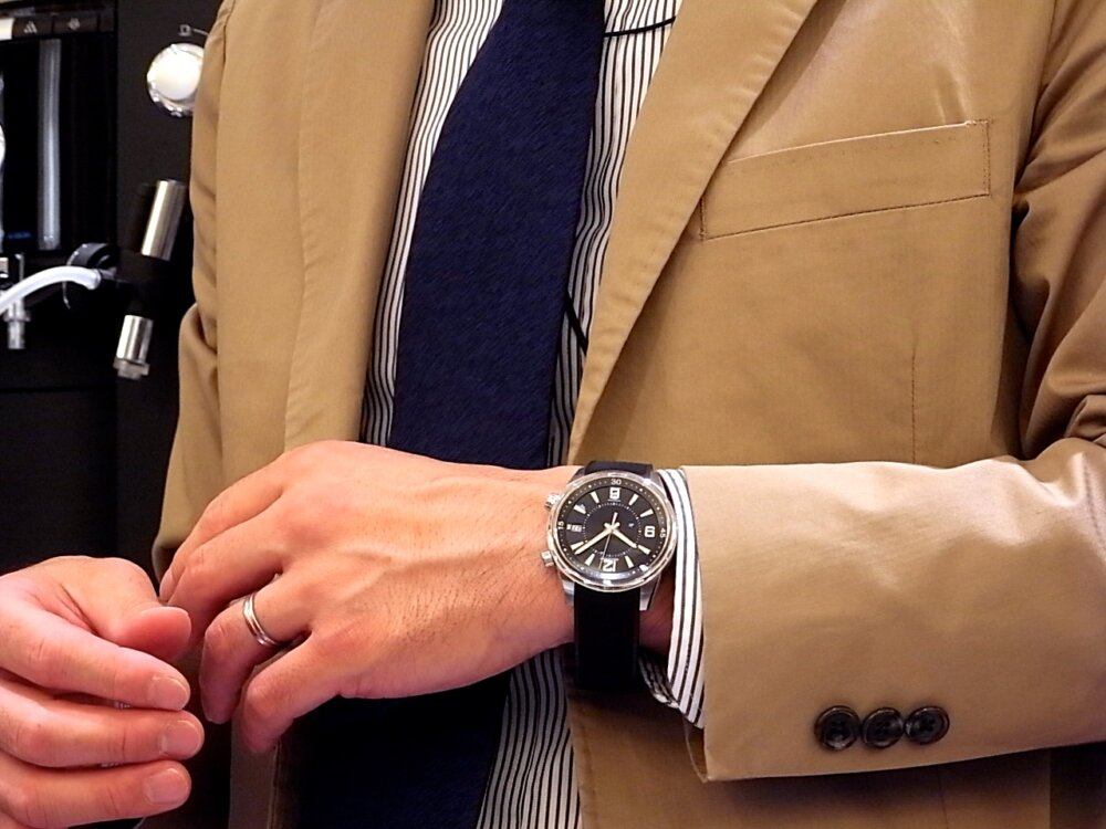 【ジャガー・ルクルト】のポラリス デイト、アクティブな男性におすすめな時計です!-Jaeger-LeCoultre -R1171822