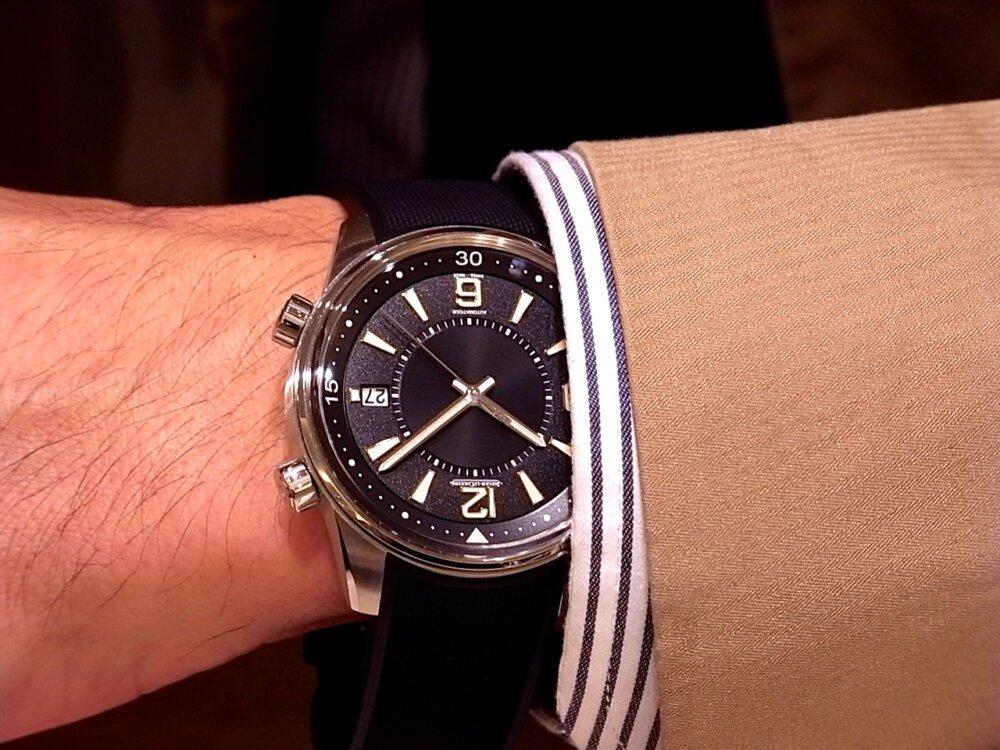 【ジャガー・ルクルト】のポラリス デイト、アクティブな男性におすすめな時計です!-Jaeger-LeCoultre -R1171823