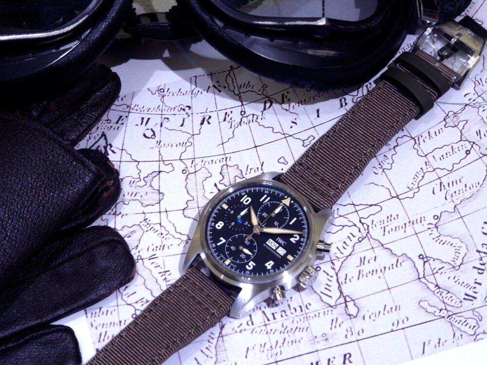 ウィンターフェア開催中!2019年新作自社製キャリバーを備えた、レトロな高級機械式時計!IWC パイロット・ウォッチ・クロノグラフ・スピットファイア!!-IWC -R1171837