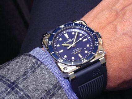ベル&ロス ブルーが素敵! ダイバーズウォッチ「BR 03-92 ダイバー ブルー」