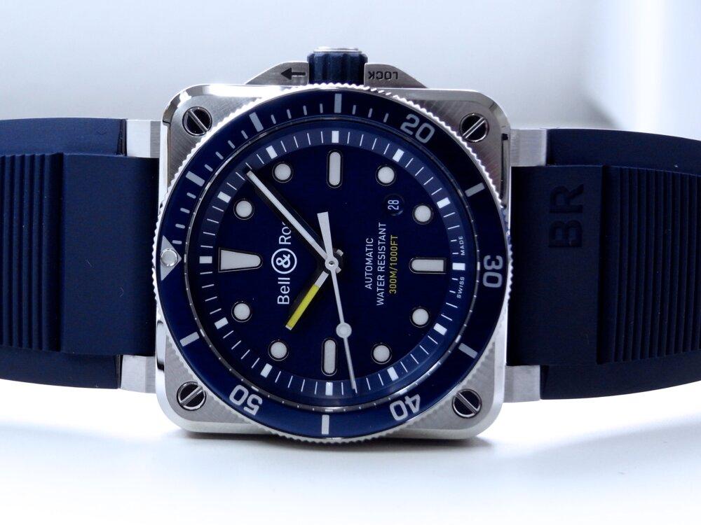 ベル&ロス ブルーが素敵! ダイバーズウォッチ「BR 03-92 ダイバー ブルー」-Bell&Ross -R1171924