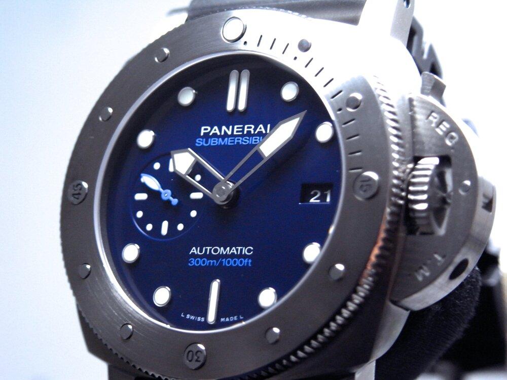 パネライ スティールよりも堅固で軽量!「ルミノール サブマーシブル 1950 BMG-TECH」 PAM00692-PANERAI -R1172089