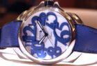 PANEARAIブルー文字盤が美しいブレスレットモデル ルミノール マリーナ44mm PAM01058