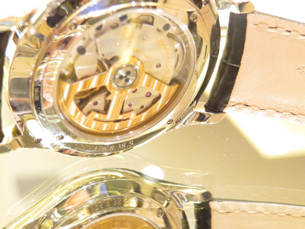 ジャガールクルトフェア 8月18日(日)まで!洗練されたフォルムが美しいマスター・ウルトラスリム・リザーブ・ド・マルシェ-Jaeger-LeCoultre -IMG_0411