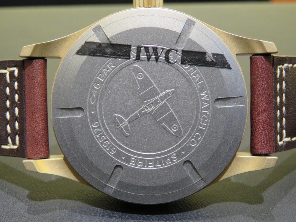 IWC 伝説の戦闘機からインスピレーションを得た「パイロット・ウォッチ・オートマティック・スピットファイア」!!-IWC -IMG_0438