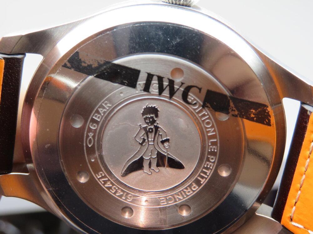 """IWC 色褪せないミッドナイトブルーがカッコいい「ビッグ・パイロット・ウォッチ""""プティ・プランス""""」!!-IWC -IMG_0535"""