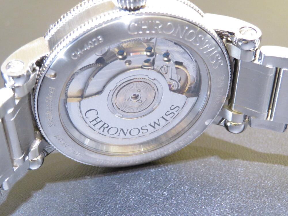 クロノスイス2019年新作! 37㎜のケース径で上品でスポーティーな実用性のあるデザイン レギュレータークラシック-CHRONOSWISS -IMG_0601