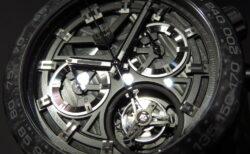 ファントムという名に相応しいダークトーン! タグ・ホイヤー「カレラ キャリバー ホイヤー02T カーボン トゥールビヨン ファントム」CAR5A8P.FC6415