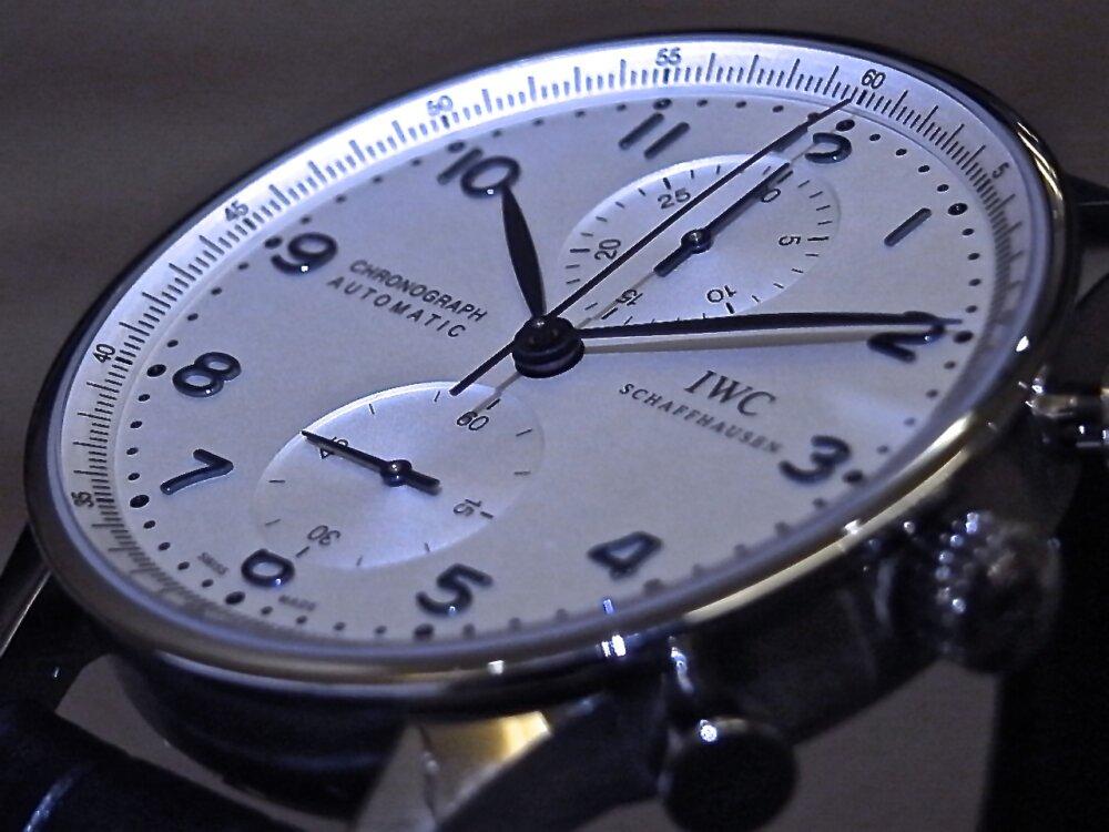 IWCの調和されたデザインが秀逸!「ポルトギーゼ・クロノグラフ」IW371446-IWC -R1163081