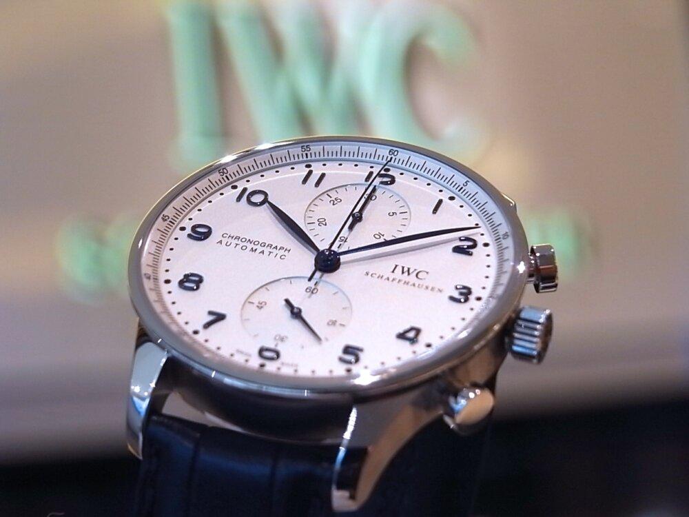IWCの調和されたデザインが秀逸!「ポルトギーゼ・クロノグラフ」IW371446-IWC -R1163084