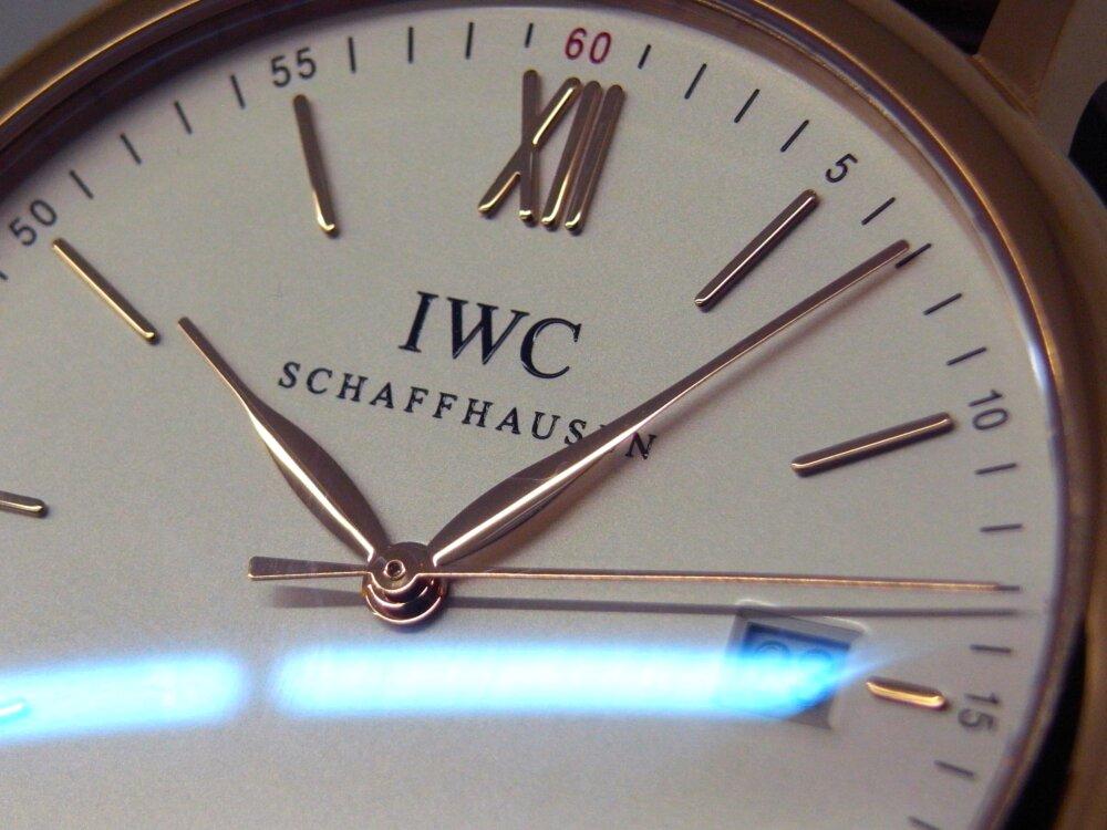 IWC 品のある高級感が素敵! レッドゴールドケースを採用した「ポートフィノ・オートマティック」-IWC -R1172375