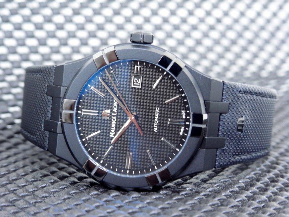 シリーズ初のオールブラックモデルが かっこいい!「アイコン ブラック」-MAURICE LACROIX -R1172607-1