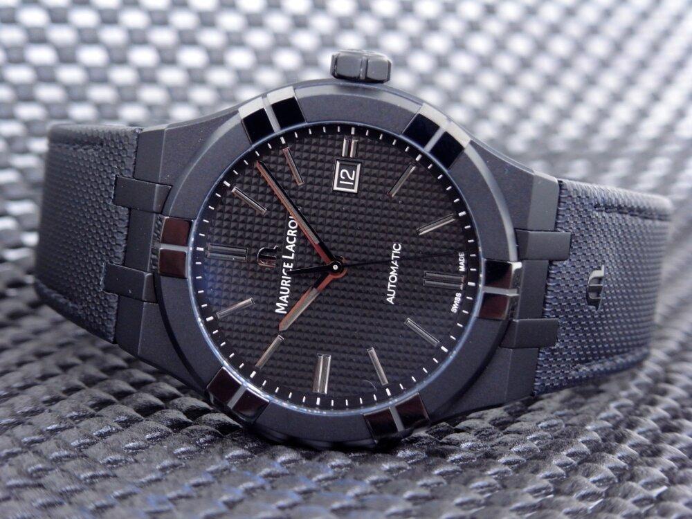 シリーズ初のオールブラックモデルが かっこいい!「アイコン ブラック」-MAURICE LACROIX -R1172608-1
