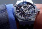 CVSTOS(クストス) スケルトン×ブルーラバーで日常を格上げする時計「チャレンジ クロノⅡ」!!