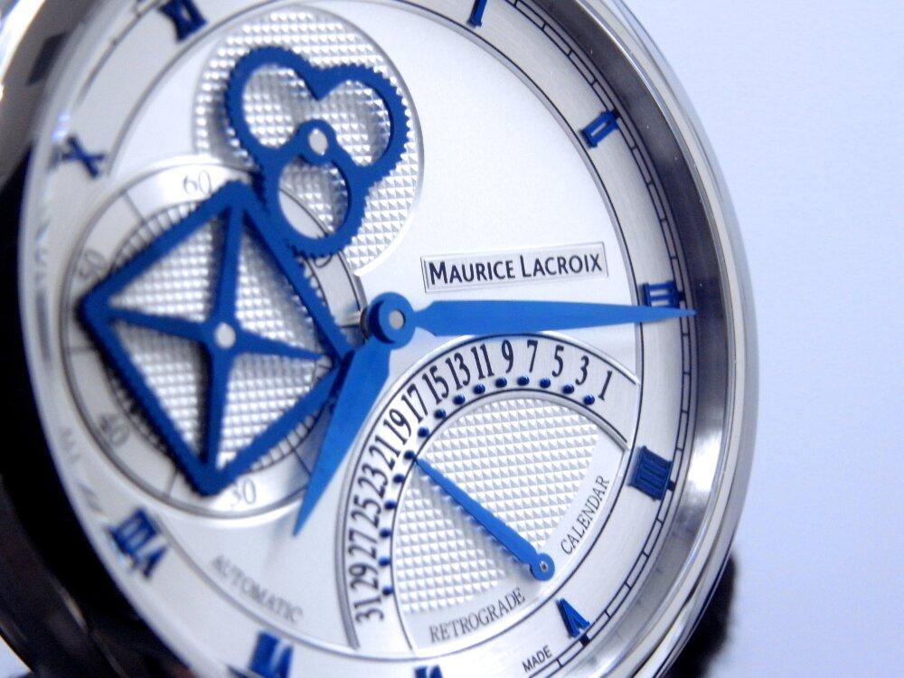 モーリス・ラクロア 2019年新作モデル 「マスターピース スクエアホイール レトログラード」-MAURICE LACROIX -R1172794
