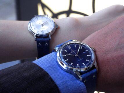 スイス の 新興 時計ブランド「ノルケイン」をペアウォッチで楽しむ♫