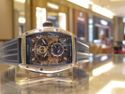 CVSTOS(クストス)青い爽やかな腕時計!チャレンジ シーライナー GMT!