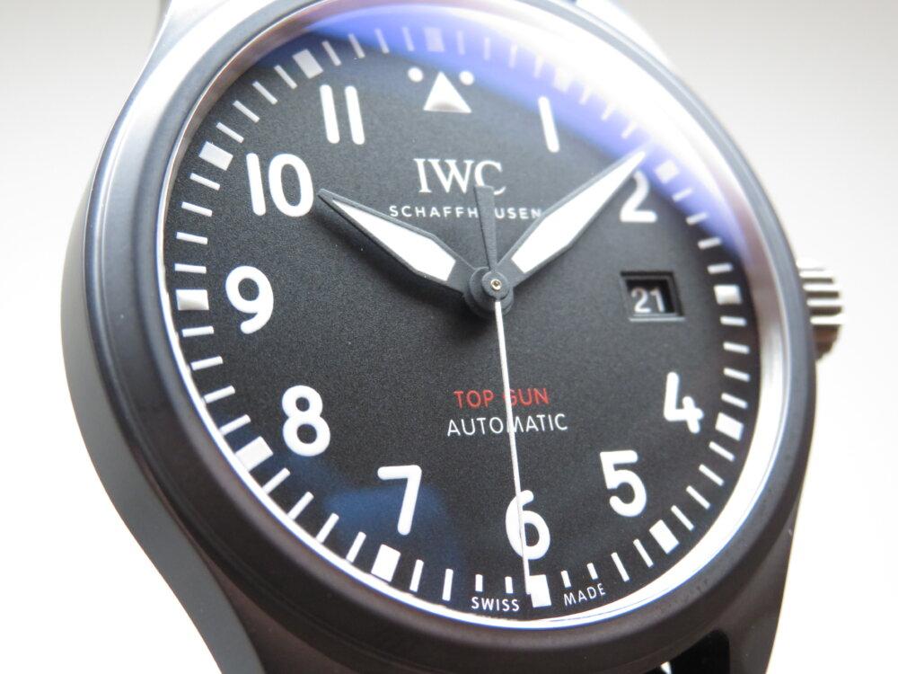 IWC 2019年新作!エリートの為の機械式時計!パイロット・ウォッチ・オートマティック・トップガン!-IWC -IMG_1204