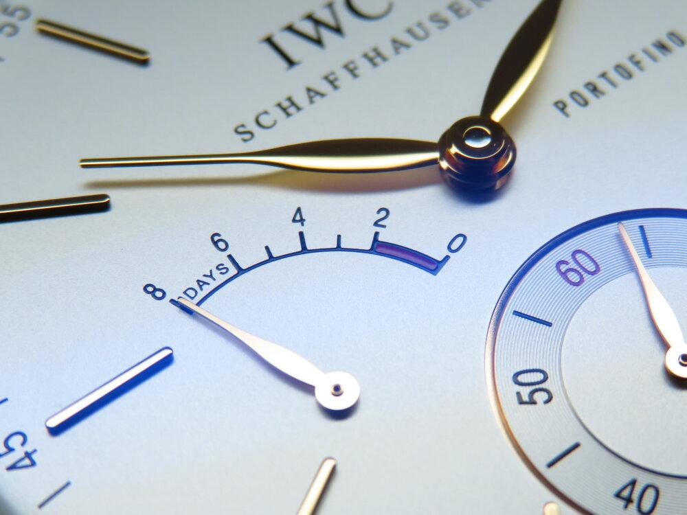 IWCクラシカルなデザイン、古典的な手巻きの時計はいかがですか「ポートフィノ・ハンドワインド・エイトデイズ」!-IWC -IMG_1476
