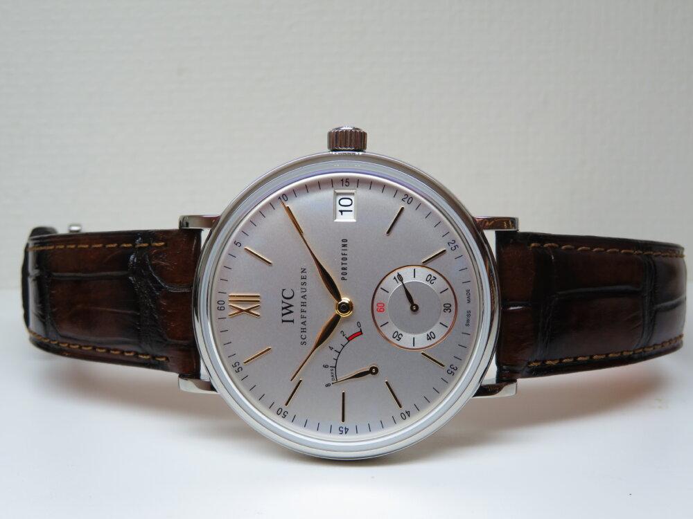 IWCクラシカルなデザイン、古典的な手巻きの時計はいかがですか「ポートフィノ・ハンドワインド・エイトデイズ」!-IWC -IMG_1480
