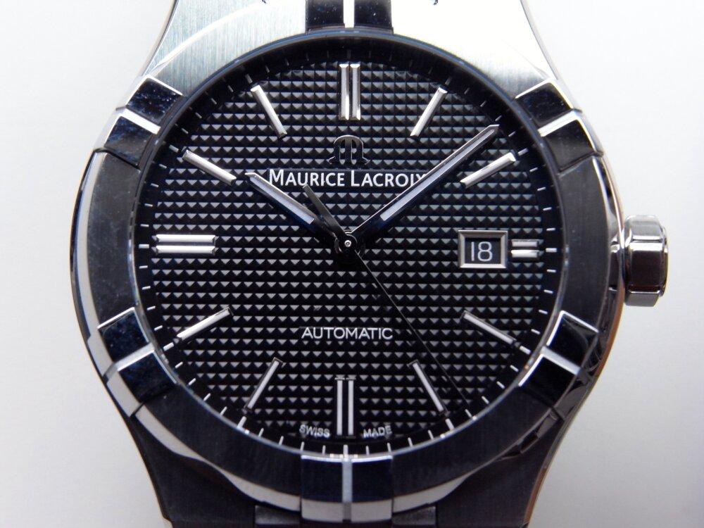 モーリス・ラクロア 人気のアイコンオート 2つのケースサイズの比較-MAURICE LACROIX -R1172991