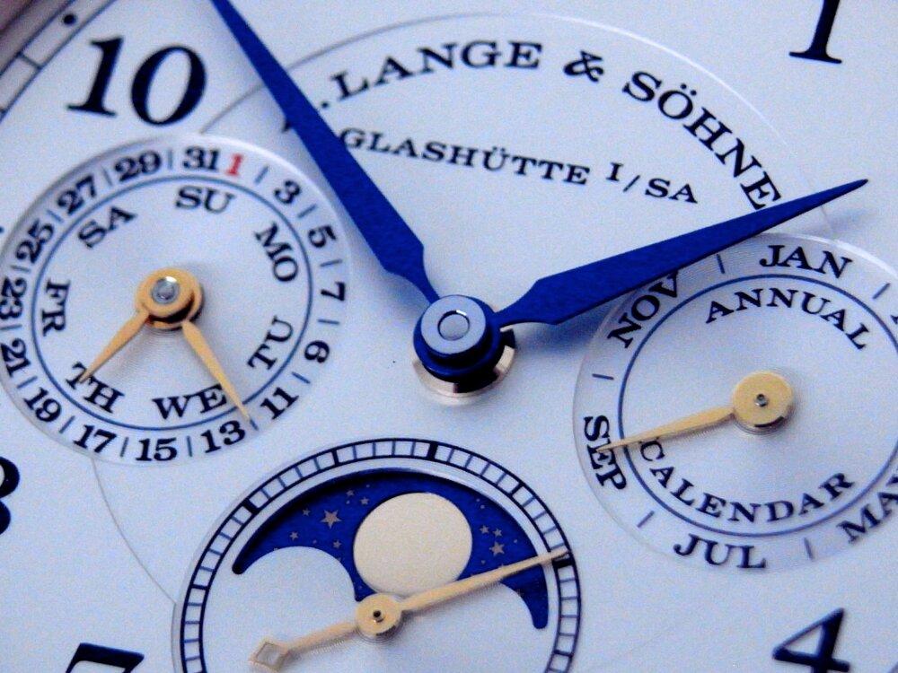 ランゲ&ゾーネ 日常的な機能性に特別感を併せ持つ 「1815 アニュアルカレンダー」-A.LANGE&SÖHNE -R1173255