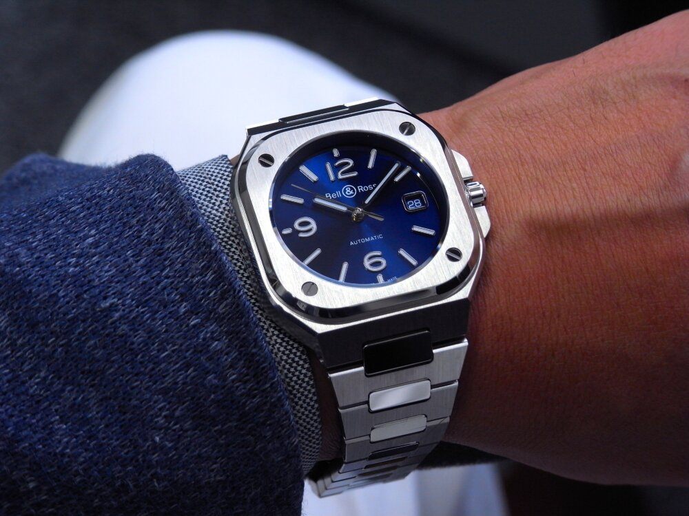 "都会派スクエアウオッチ""Bell&Ross BR05 BLUE STEEL""-Bell&Ross -R1173349"