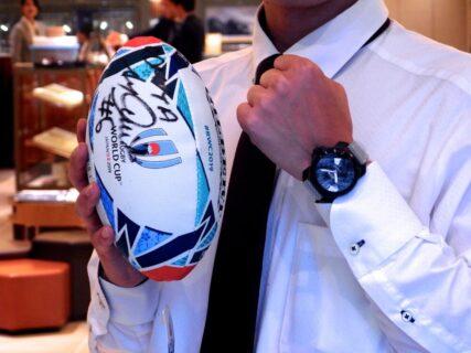 ラグビーワールドカップ2019日本大会が本日開幕!リーチマイケル選手着用モデル。