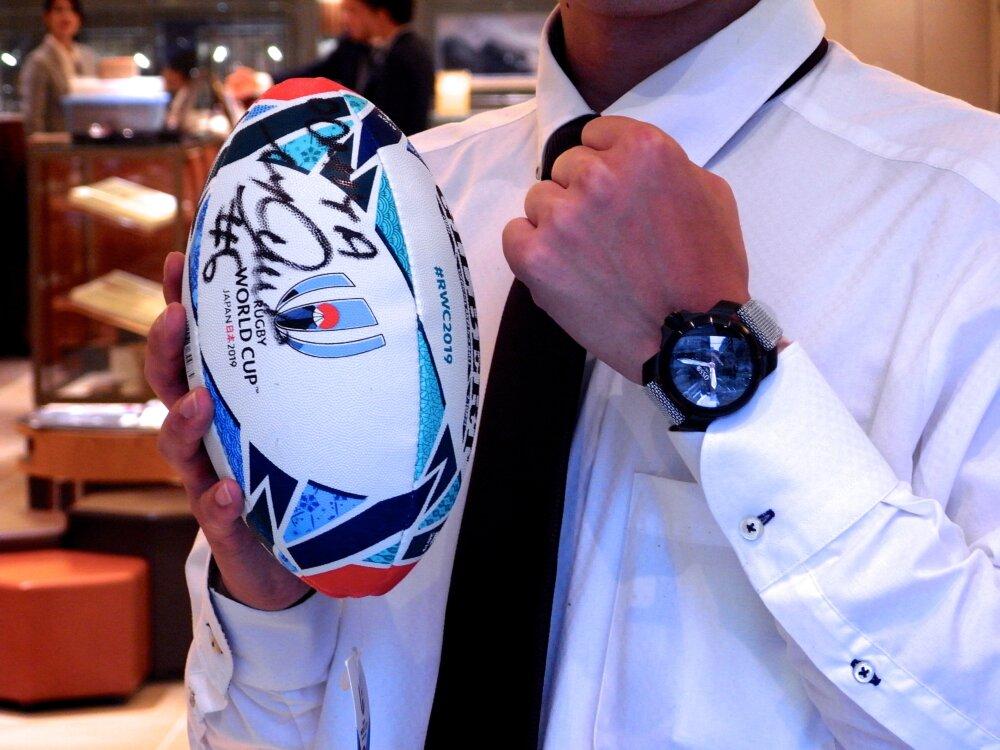 ラグビーワールドカップ2019日本大会が本日開幕!リーチマイケル選手着用モデル。-OSSO ITALY -R1173397