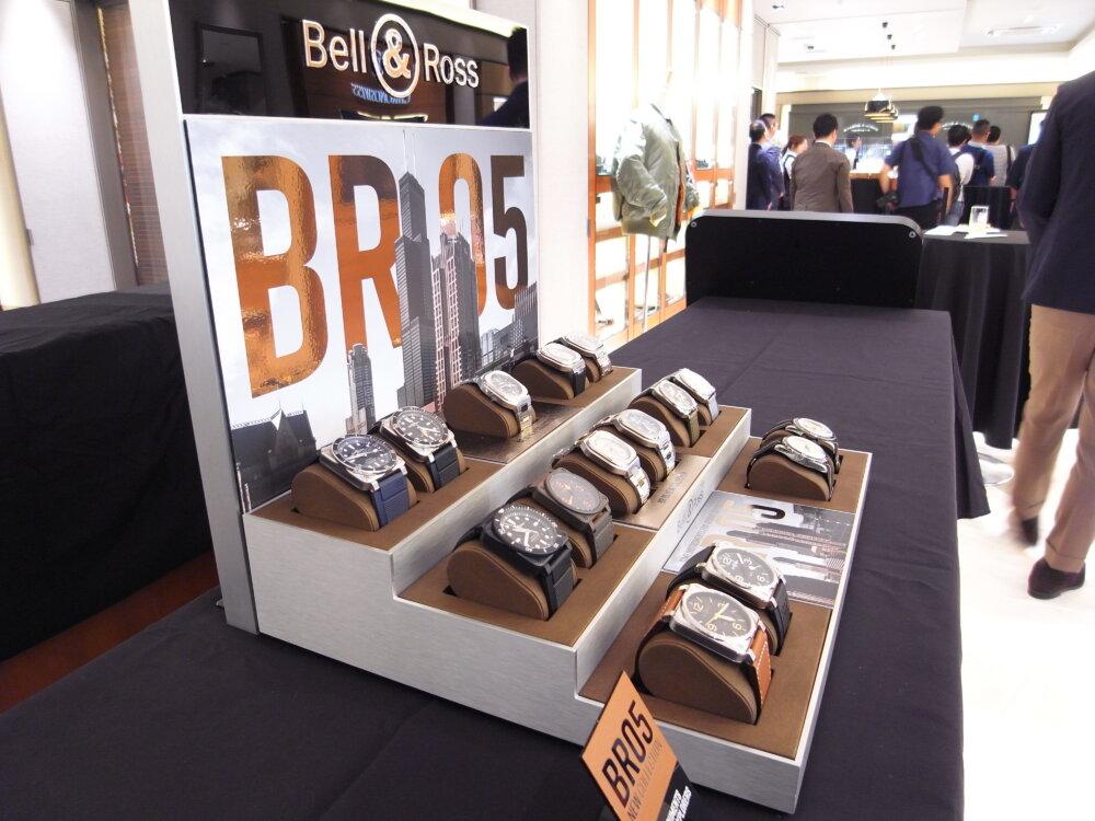 ベル&ロスのニューコレクション「BR05」ローンチイベントを大阪心斎橋店で開催しました♪-お知らせ -R1173409