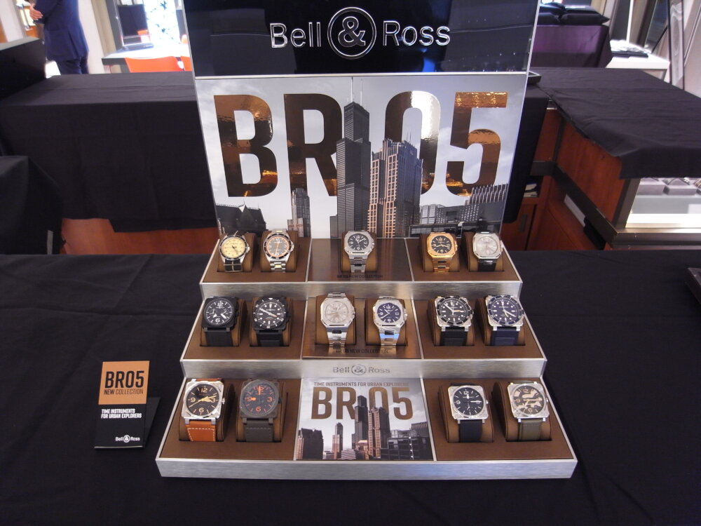 ベル&ロスのニューコレクション「BR05」ローンチイベントを大阪心斎橋店で開催しました♪-お知らせ -R1173411