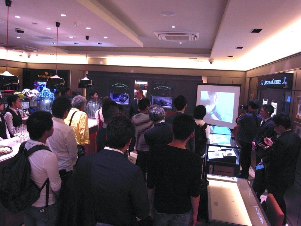 ベル&ロスのニューコレクション「BR05」ローンチイベントを大阪心斎橋店で開催しました♪-お知らせ -R1173416