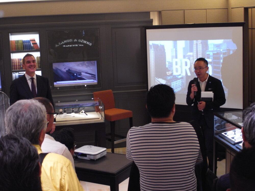 ベル&ロスのニューコレクション「BR05」ローンチイベントを大阪心斎橋店で開催しました♪-お知らせ -R1173423