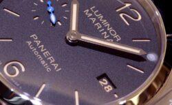 小ぶりなケースを採用した ルミノールマリーナ PAM01392 〜 PANERAI パネライ 〜