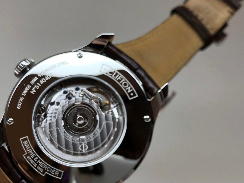 この秋着けたいおとな時計。ボーム&メルシエから「クリフトン ビッグデイト パワーリザーブ」をご紹介。-BAUME&MERCIER -3-1