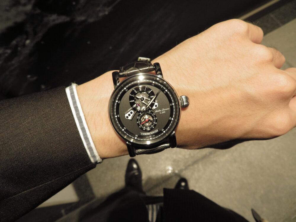 遊び心のある大人のための腕時計! クロノスイス「フライング・レギュレーター オープンギア」CH-8753-BKBK-CHRONOSWISS -IMG_1672