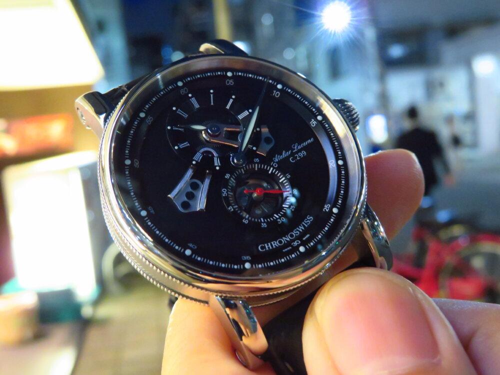 遊び心のある大人のための腕時計! クロノスイス「フライング・レギュレーター オープンギア」CH-8753-BKBK-CHRONOSWISS -IMG_1674