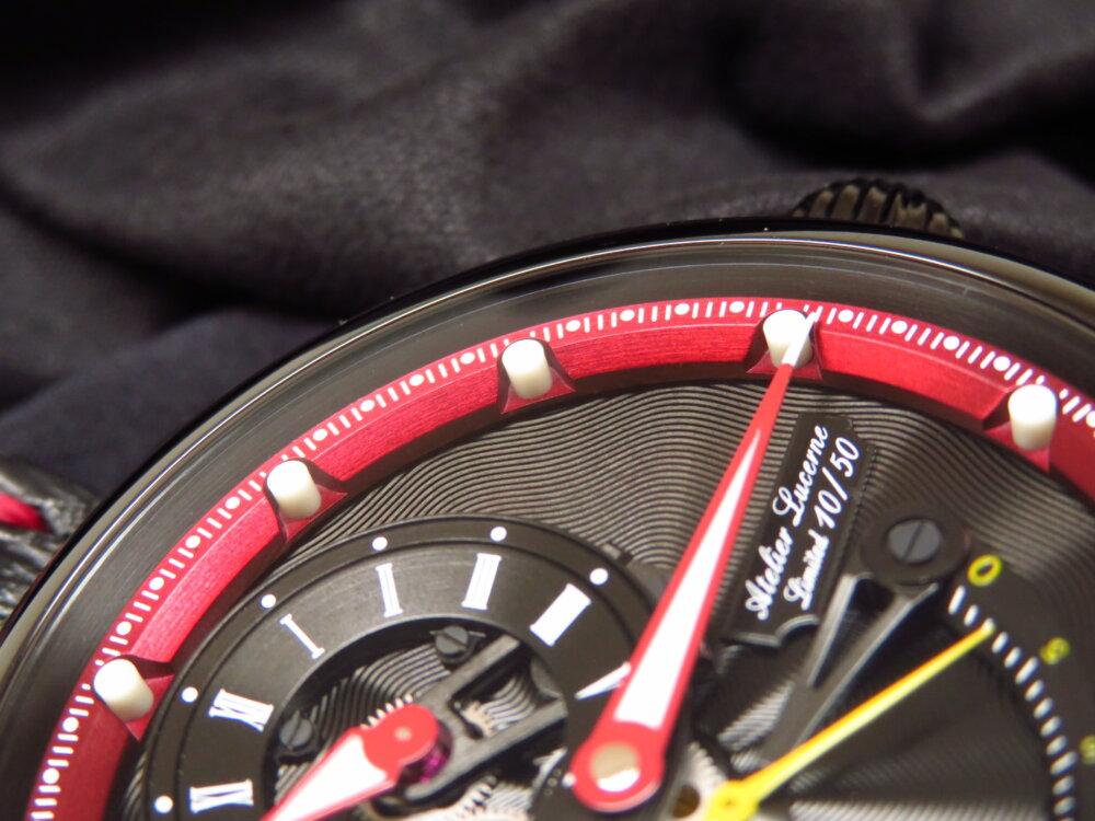クロノスイスでモダンを纏う! 「フライング・レギュレーター オープンギア レ・セック」CH-6925-BKRE-CHRONOSWISS -IMG_1840