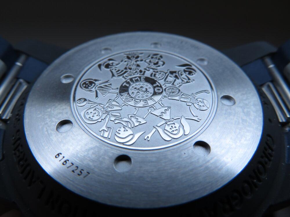 特別なブルー文字盤?腕時計の購入が恵まれない子供たちへの支援に繋がる、IWCアクアタイマーローレウス限定モデル-IWC その他 -IMG_1989