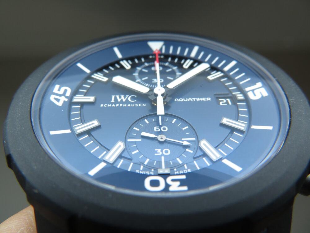 特別なブルー文字盤?腕時計の購入が恵まれない子供たちへの支援に繋がる、IWCアクアタイマーローレウス限定モデル-IWC その他 -IMG_1991