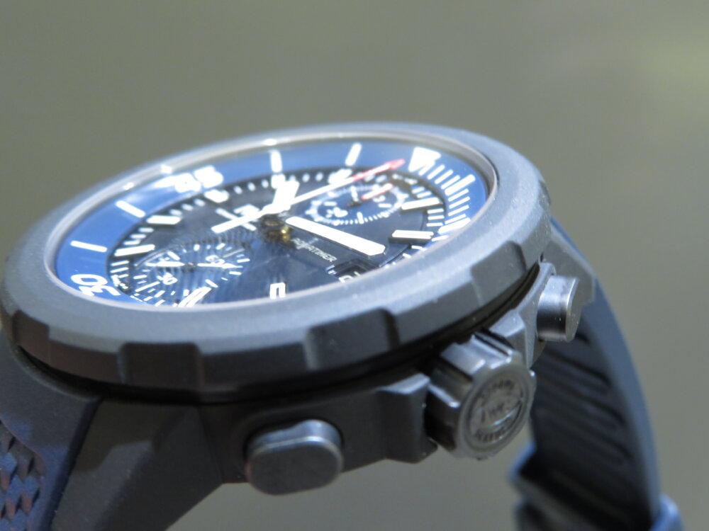 特別なブルー文字盤?腕時計の購入が恵まれない子供たちへの支援に繋がる、IWCアクアタイマーローレウス限定モデル-IWC その他 -IMG_2005