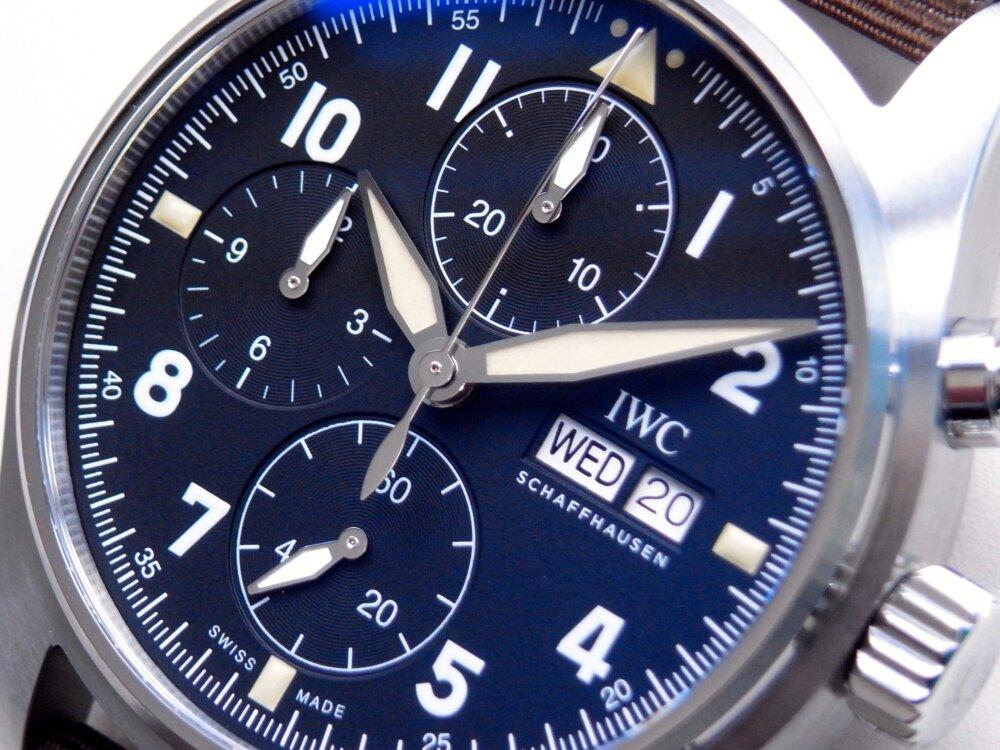 IWC2019年新作モデル「パイロット・ウォッチ・クロノグラフ ・スピットファイア」-IWC -R1173580