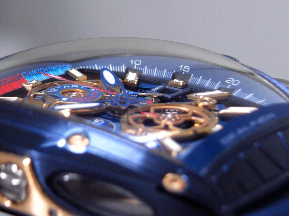 ウィンターフェア開催中!爽やかなブルーと高級感あるゴールドの組み合わせがカッコイイ!CVSTOS(クストス) チャレンジ シーライナー クロノレガッタ!!-CVSTOS -R1173739