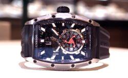 スケルトンの腕時計ってカッコイイと思う方々必見、トノー型スケルトンモデル「クストスチャレンジジェットライナー」