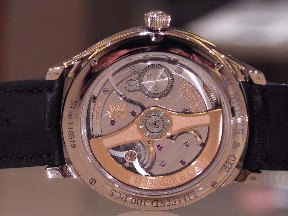 【H.モーザー】現代の時計製造の源となった太陽系に着想を得た意欲作!「エンデバーフライングアワーズ」。-H.Moser&Cie. -R1174126