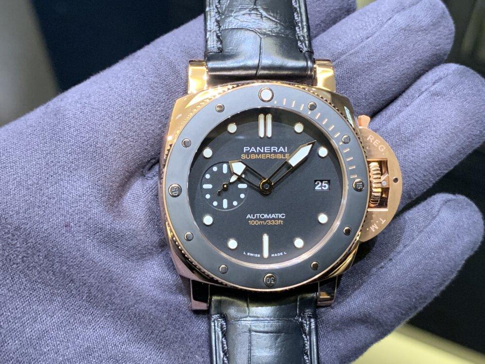 やっぱり欲しいゴールドモデル!サブマーシブル-42mm(PAM00974)~パネライ~-PANERAI -image1-3