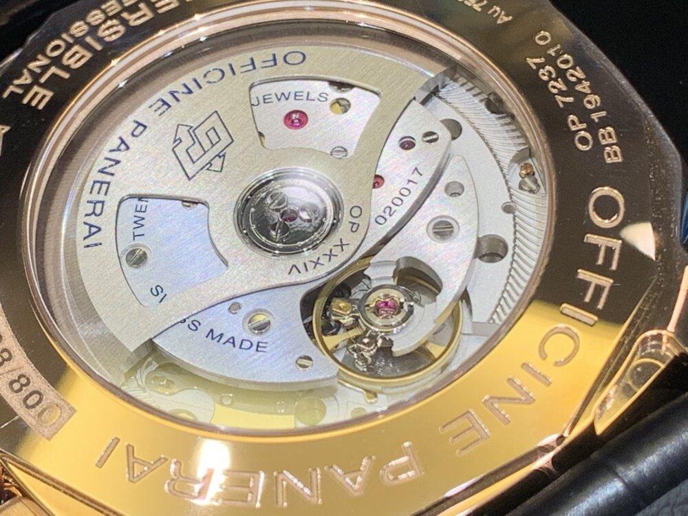 やっぱり欲しいゴールドモデル!サブマーシブル-42mm(PAM00974)~パネライ~-PANERAI -image3
