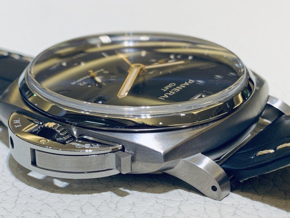 薄型モデルのルミノール・ドゥエも素晴らしい♪ルミノール・ドゥエ GMT パワーリザーブ PAM00964~パネライ~-PANERAI -IMG_1842