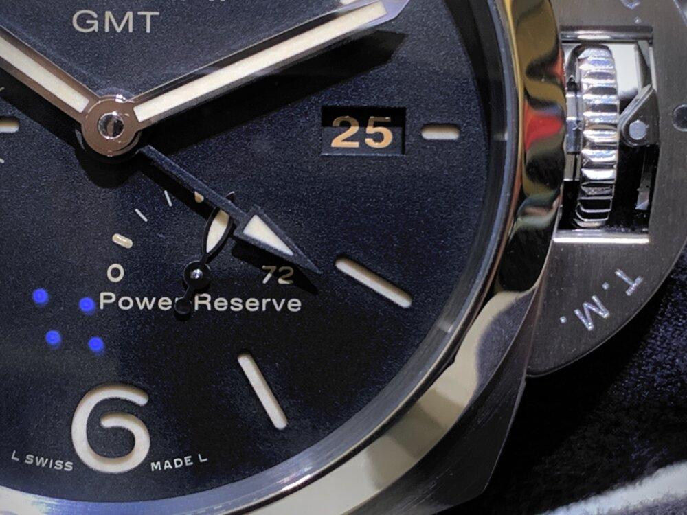 世界を飛び回る方必見!ルミノール GMT パワーリザーブ(PAM01321)~パネライ~-PANERAI -IMG_1957